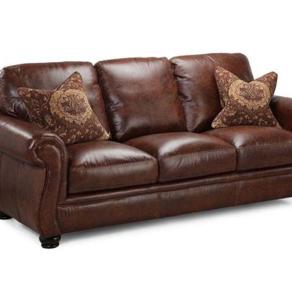 Charleston Leather Sofa Merry 39 S Trash And Treasures